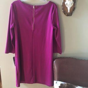 Apt. 9 Dresses - Apt 9 Fuchsia Shift Dress NWT